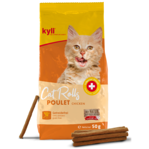 Kyli Cat Rolls Poulet 50g