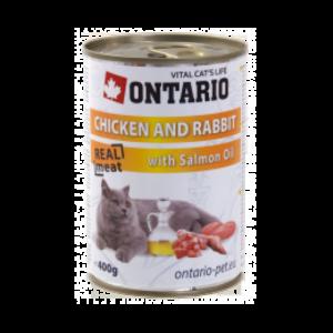 Ontario Adult Chicken, Rabbit, Salmon Oil