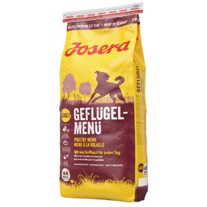 josera-hundefutter-gefluegelmenue-seitliche-ansicht